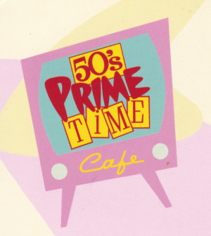 50s Prime Time Cafe at Disney World with food allergies