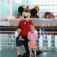 Disney Cruise with Captain Mickey