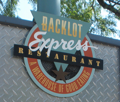 Backlot Express dining with a food allergy