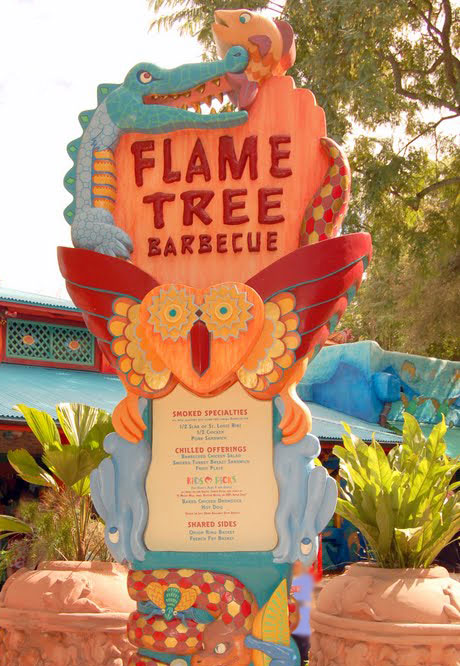 Flame Tree BBQ with a food allergy