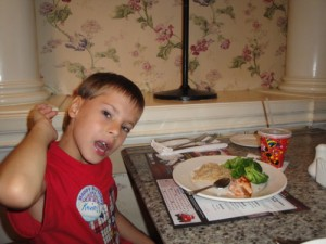 Food allergy free at Grand Floridian Cafe