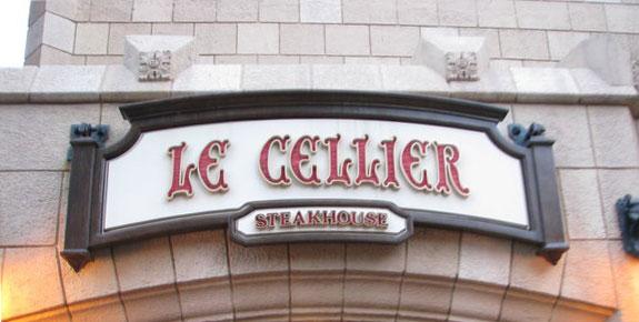 Disney Epcot Le Cellier food allergy review
