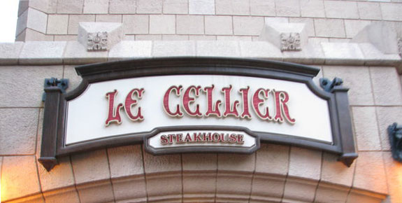 Disney Epcot Le Cellier food allergy review