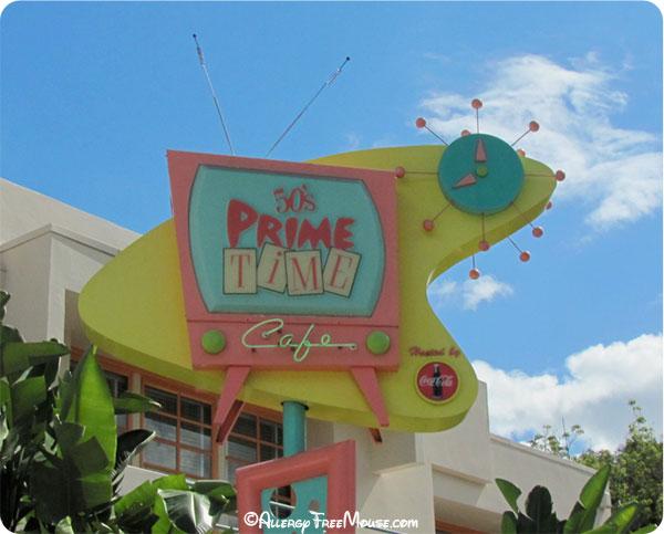 50s Prime Time Cafe in Disney Hollywood Studios