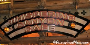 Dining with food allergies at Whispering Canyon Cafe