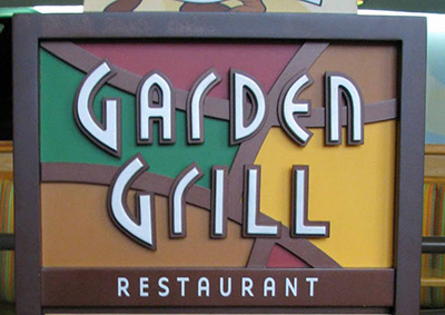 Dining gluten-free at Disney Epcot Garden Grill