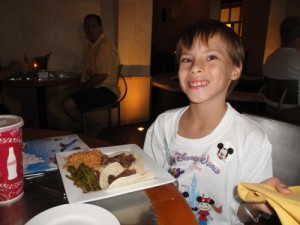 Dining at the Maya Grill with food allergies