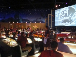 Sci-Fi Dine-in Theater with a food allergy