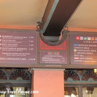 Food allergy options at the Tortuga Tavern