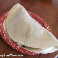 Tortuga Tavern dairy free black bean taco