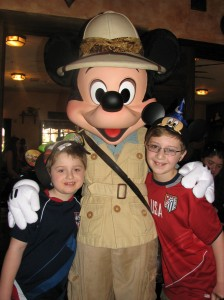 Dining with food allergies at Tusker House in Animal Kingdom