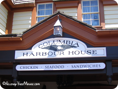 Dining with food allergies at Columbia Harbour House