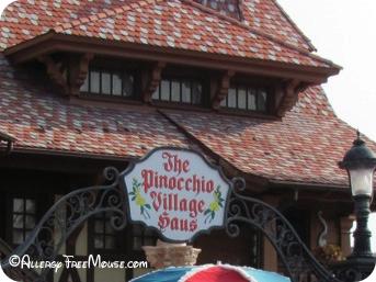 Food allergies at Pinocchio Village Haus