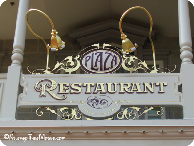 Dining at The Plaza Restaurant with food allergies