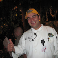 Chef Richard at the Rainforest Cafe Downtown Disney