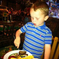 Food allergies at the Rainforest Cafe Downtown Disney