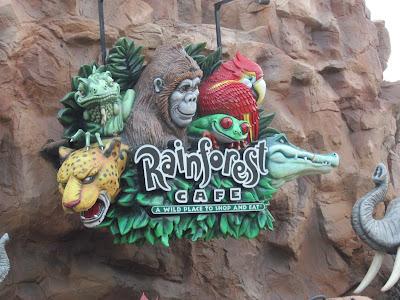 Downtown Disney's Rainforest Cafe