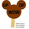 Gluten-free Dairy-Free at WDW