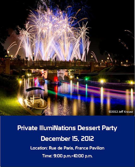 IllumiNations Allergy Free Dessert Party