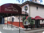 Hollywood Brown Derby dining free of wheat, dairy, nuts and shellfish