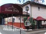 Hollywood Brown Derby with food allergies