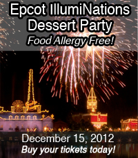 Food Allergy Free IllumiNations Dessert Party