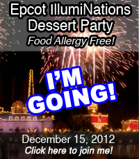 I'm attending the food allergy free IllumiNations Dessert Party