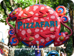 Gluten free at Disney's Pizzafari