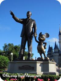 Walt and Mickey - food allergy Disney dining