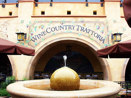Disneyland's Wine Country Trattoria