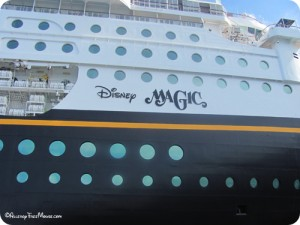 The Magic Disney Cruise Liner