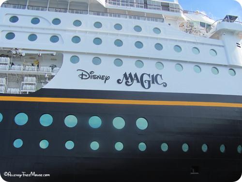 The Magic Disney Cruise Liner