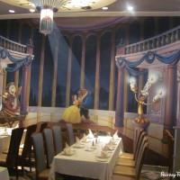 Inside Lumiere's Restaurant