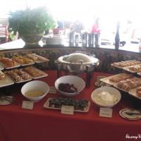 The Palo buffet on the Disney Magic