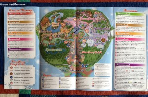 Disney World's Mickey's Very Merry Christmas Party map page 2