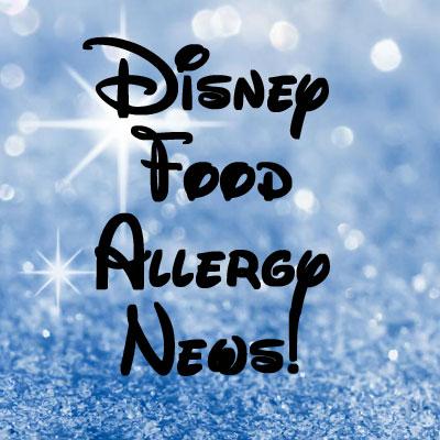 Disney Food Allergy News