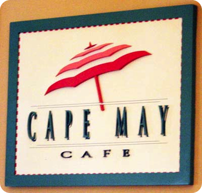 Dining at Cape May with food allergies