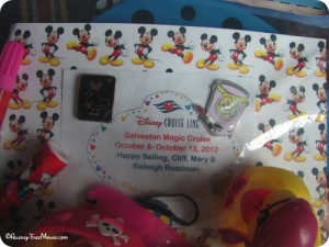 Fish Extender gifts commemorating the cruise date