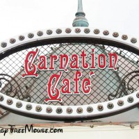 Carnation Cafe at Disneyland with Food Allergies