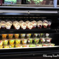 Earl of Sandwich salads and fruit cups