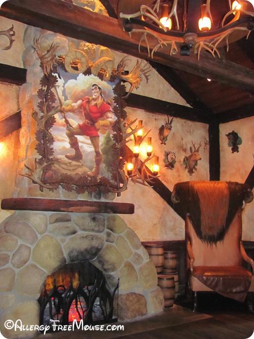 Food allergies at Gaston's Tavern