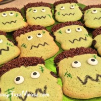 Food allergy-free Frankenstein cookie treats