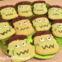 Food allergy-free Frankenstein cookies