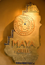 Maya Grill dining with food allergies