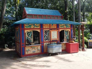 Disney's Animal Kingdom food allergy kiosk