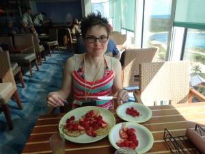 Disney Dream - Cabanas with food allergies