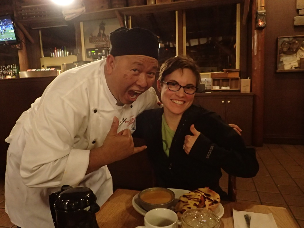 Trail's End - Chef TJ - food allergy magician