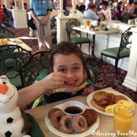 Crystal Palace dining with dairy and nut allergies