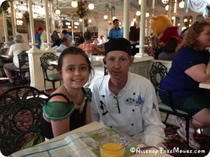 Chef Ron with Charlotte