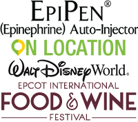 EpiPen on Location at Epcot Food and Wine Festival